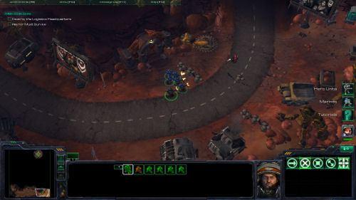 StarCraft 2 first mission