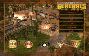 Military RTS Game: Command & Conquer: Generals