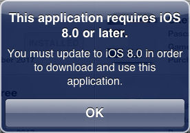 application requires iOS message