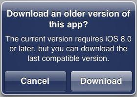 download older version