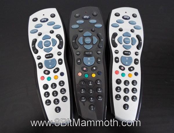 Three Sky Remote Controls