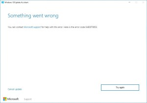 How To Fix Windows 10 Update Assistant Error 0x80070652