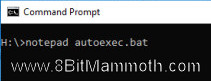 command prompt
