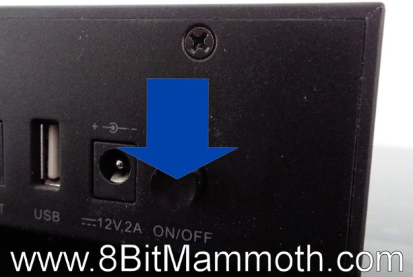 Huawei DN372T Power Button