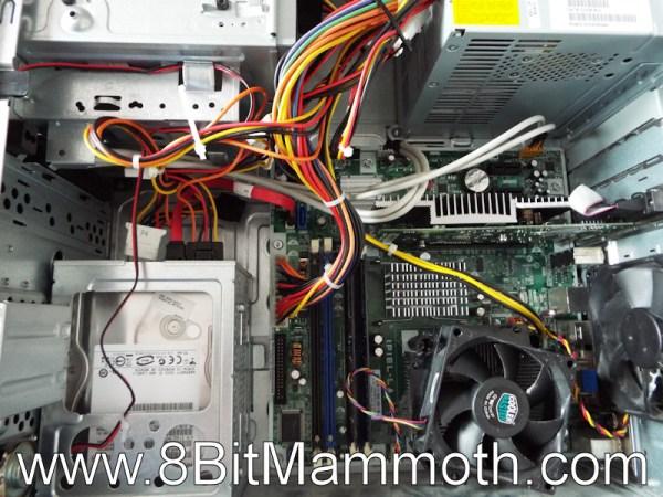 IPIEL-LA motherboard in dx2420 case