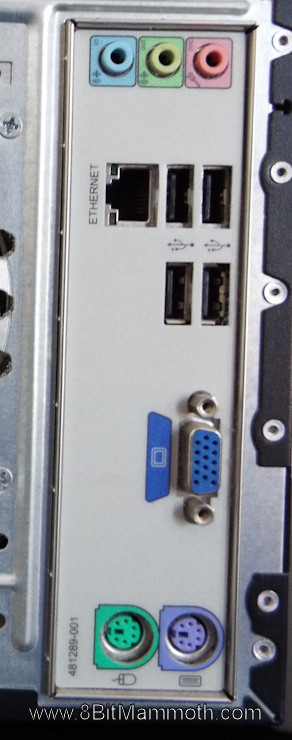 dx2420 rear connections