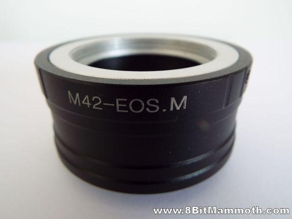 Adaptout M42-EOS.M lens adapter