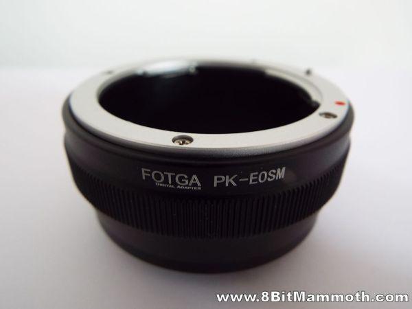 Fotga Pentax K PK to EOS M adapter