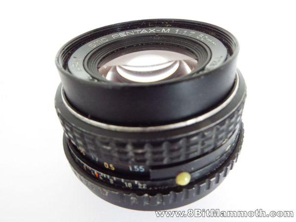 SMC Pentax-M 50mm lens