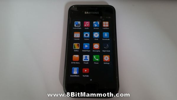 I9000 Lineage Android 4.4.4 Apps