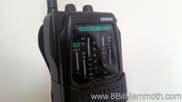 Omega portable radio