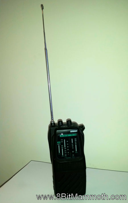 Omega Multi Band Portable Radio with replacement aerial