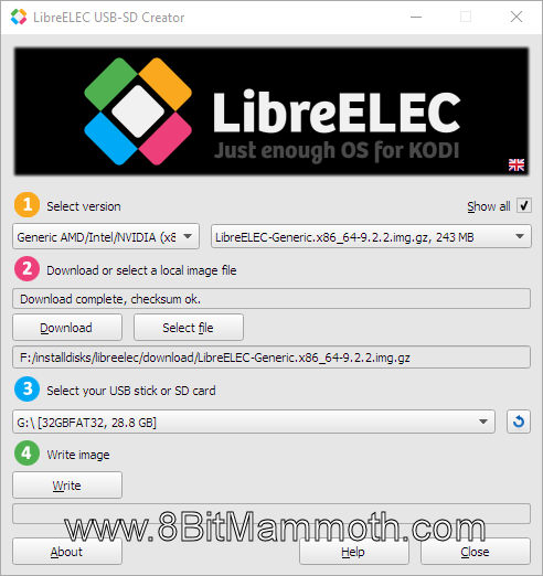 LibreElec USB-SD Creator