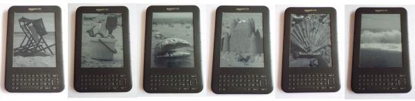 Kindle Seaside Screensavers