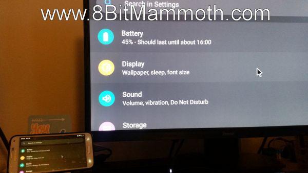 Samsung S5 G900T DisplayLink