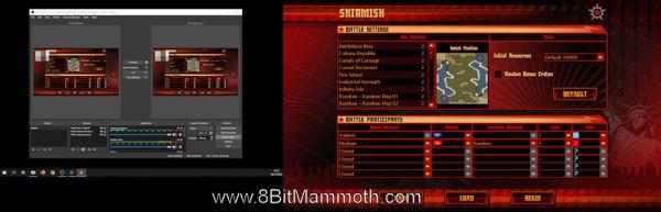 OBS Studio dual monitor setup