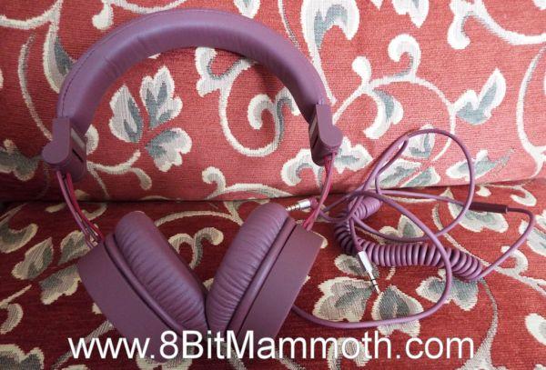 A photo of headphones