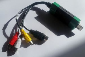 EasyCAP DC60 SMI Grabber Device / SM-USB 007 with Windows 10 (Driver & Software)