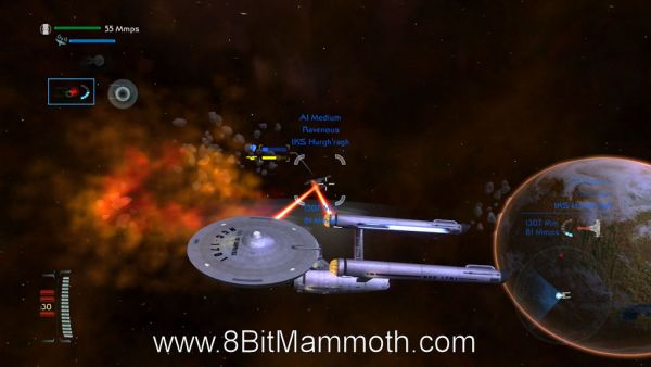 Star Trek Legacy PC gameplay