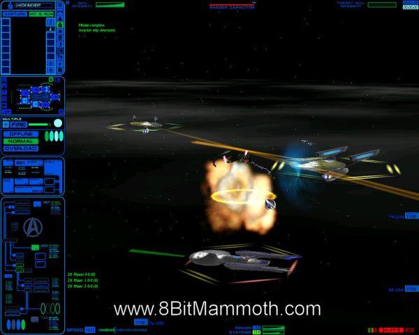 Star Trek: Starfleet Command Vol II Empires at War gameplay