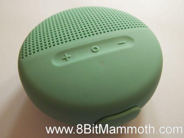 Photo of a Bluetooth speaker