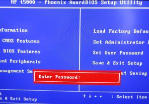 How To Remove the BIOS Password on a HP Compaq T5520 (T5000 Series) Thin Client