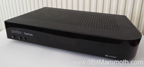 A photo of the TalkTalk YouView DN370T Huawei Set Top Box