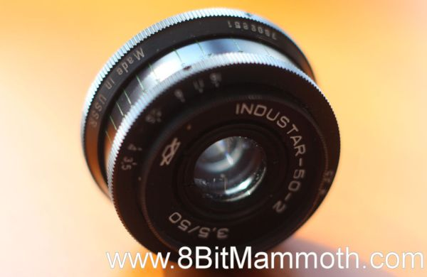 A photo of the Industar 50-2 lens