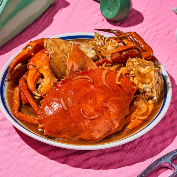 Tom yum crab by 8crabs