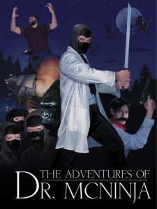 Dr. McNinja poster by carlygoboom