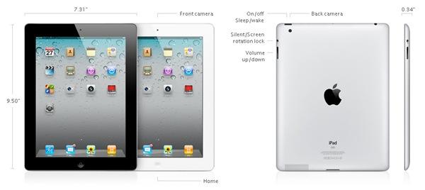 iPadSpecsAppleDotCom