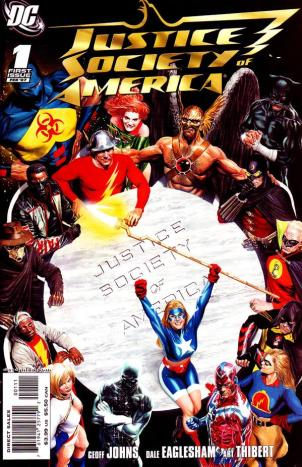 Justice Society of America Issue 1 Cover