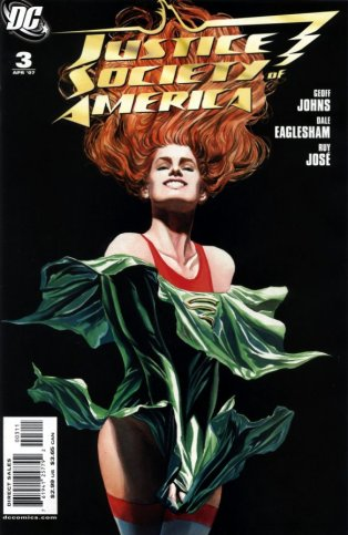 Justice Society of America Issue 3 Cover