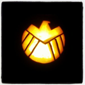 SHIELD pumpkin