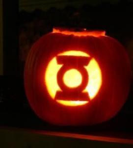 green lantern pumpkin