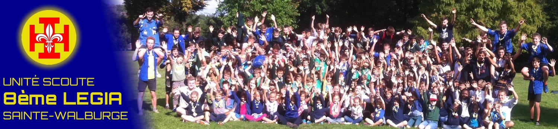 Unité Scoute de la 8ème Légia Sainte-Walburge à Liège