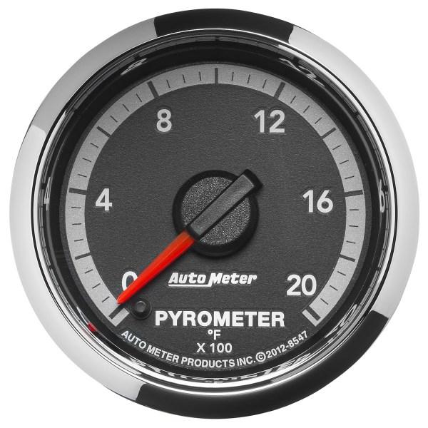 Autometer 2-1 16'' Pyrometer 0-2000 Gen 4 Dodge Factory Match