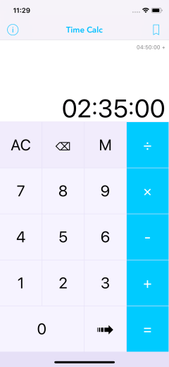 Time Calc Pro - Calculator 02 Add