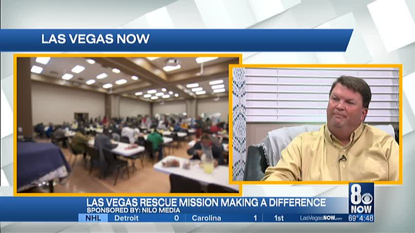 Las Vegas Rescue Mission encourages people to get involved