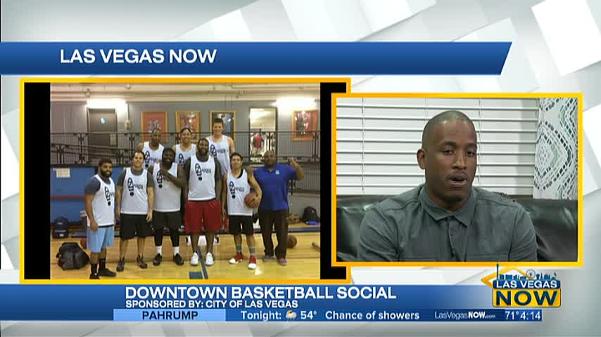 Downtown Basketball is pitting companies against each other