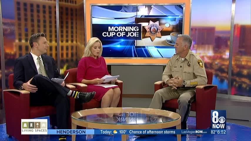 Sheriff Joe Lombardo sits down for Morning Cup of Joe