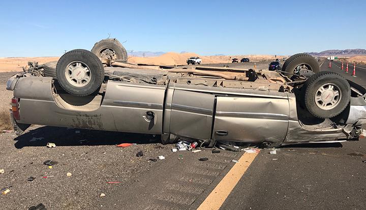 Fatal crash on I-15 north of Las Vegas