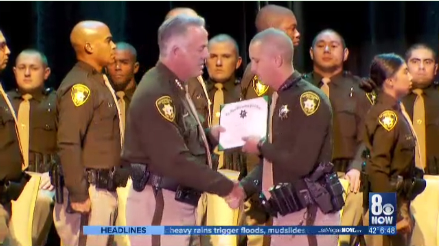Sheriff Lombardo reflects on highlights of 2017