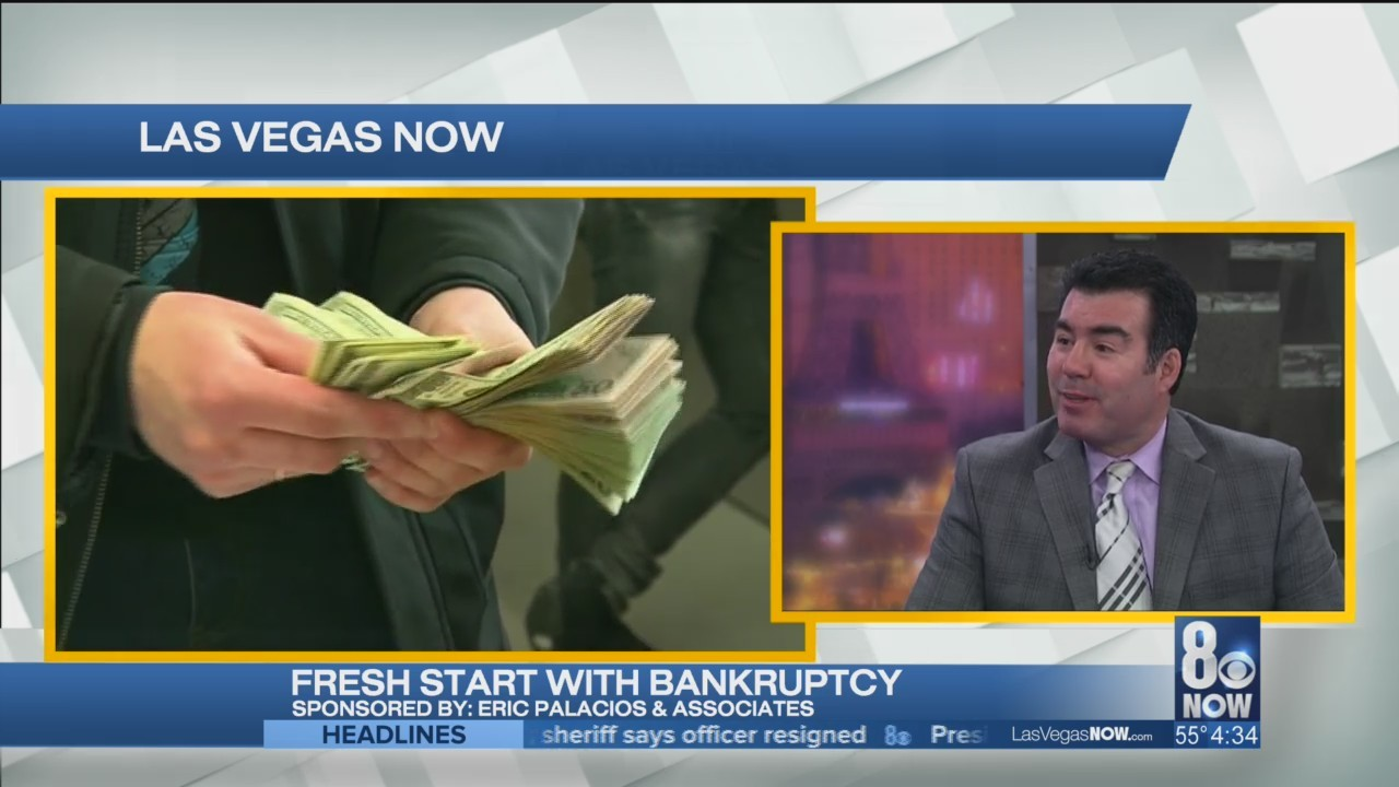 Eric Palacios gives advice on dealing with bankruptcy