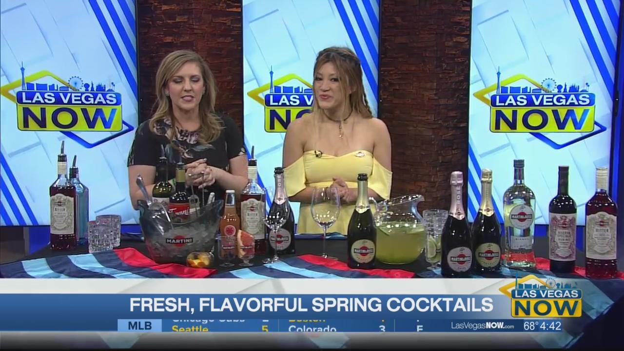 Fresh, flavorful spring cocktails