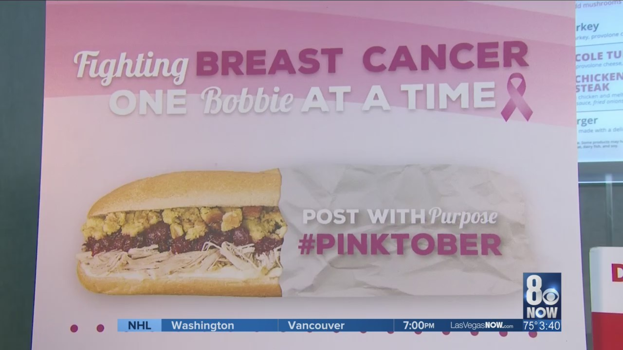Capriotti's is supporting breast cancer research