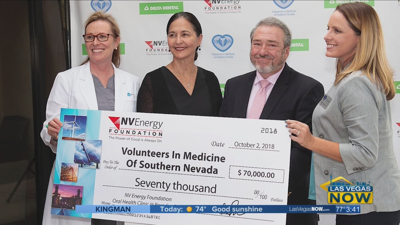NV Energy is giving back to the community