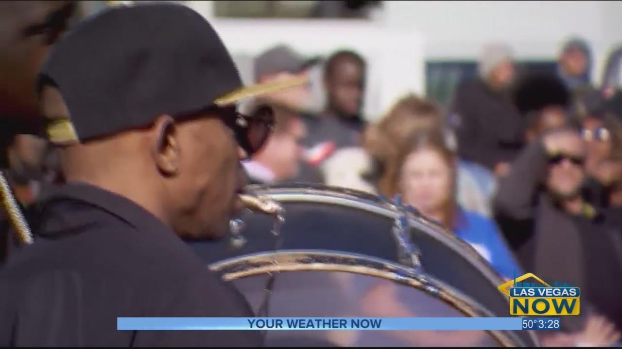 Thousands flood downtown Vegas for the MLK parade