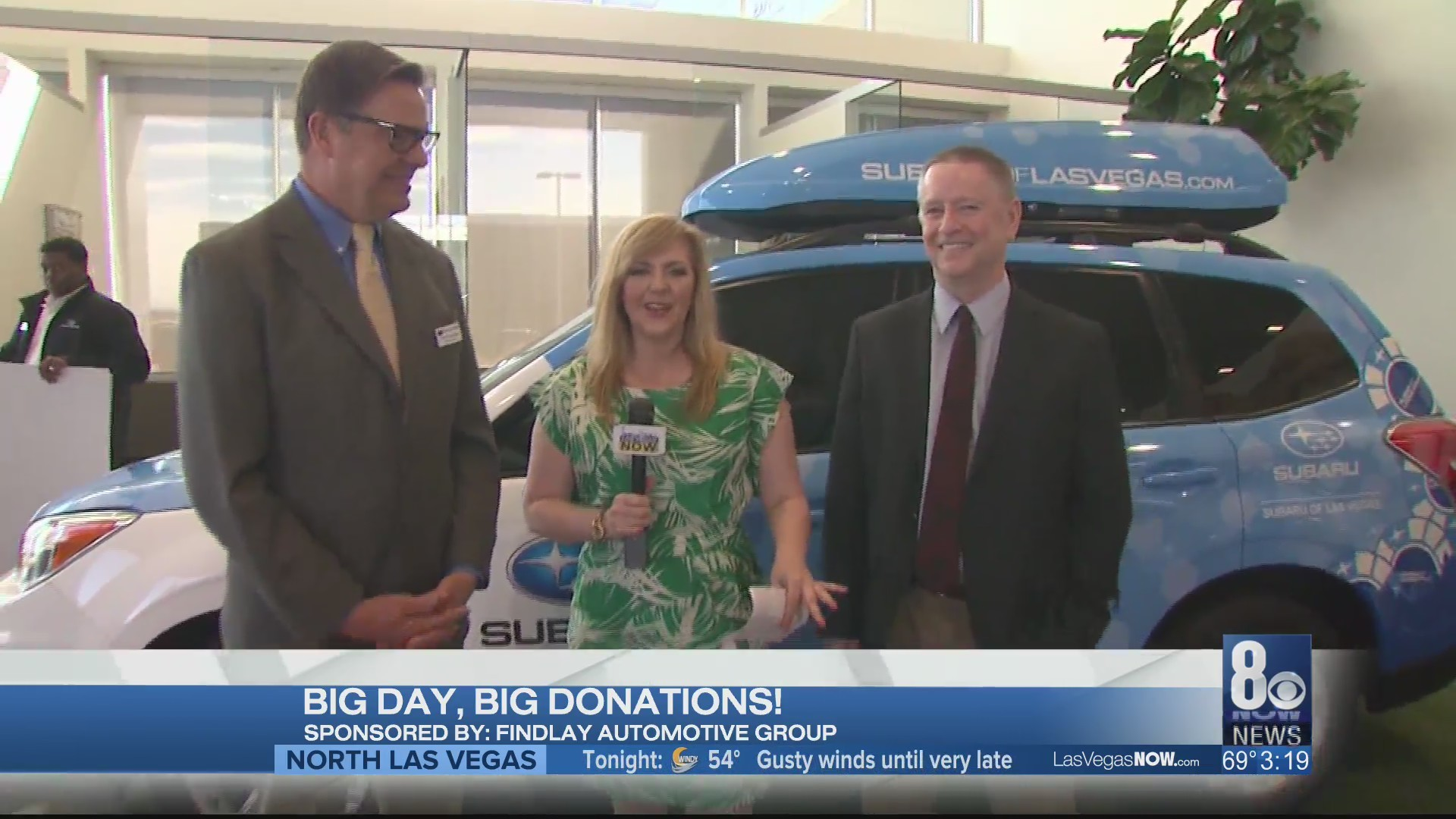 Big day, big donations at Findlay Subaru