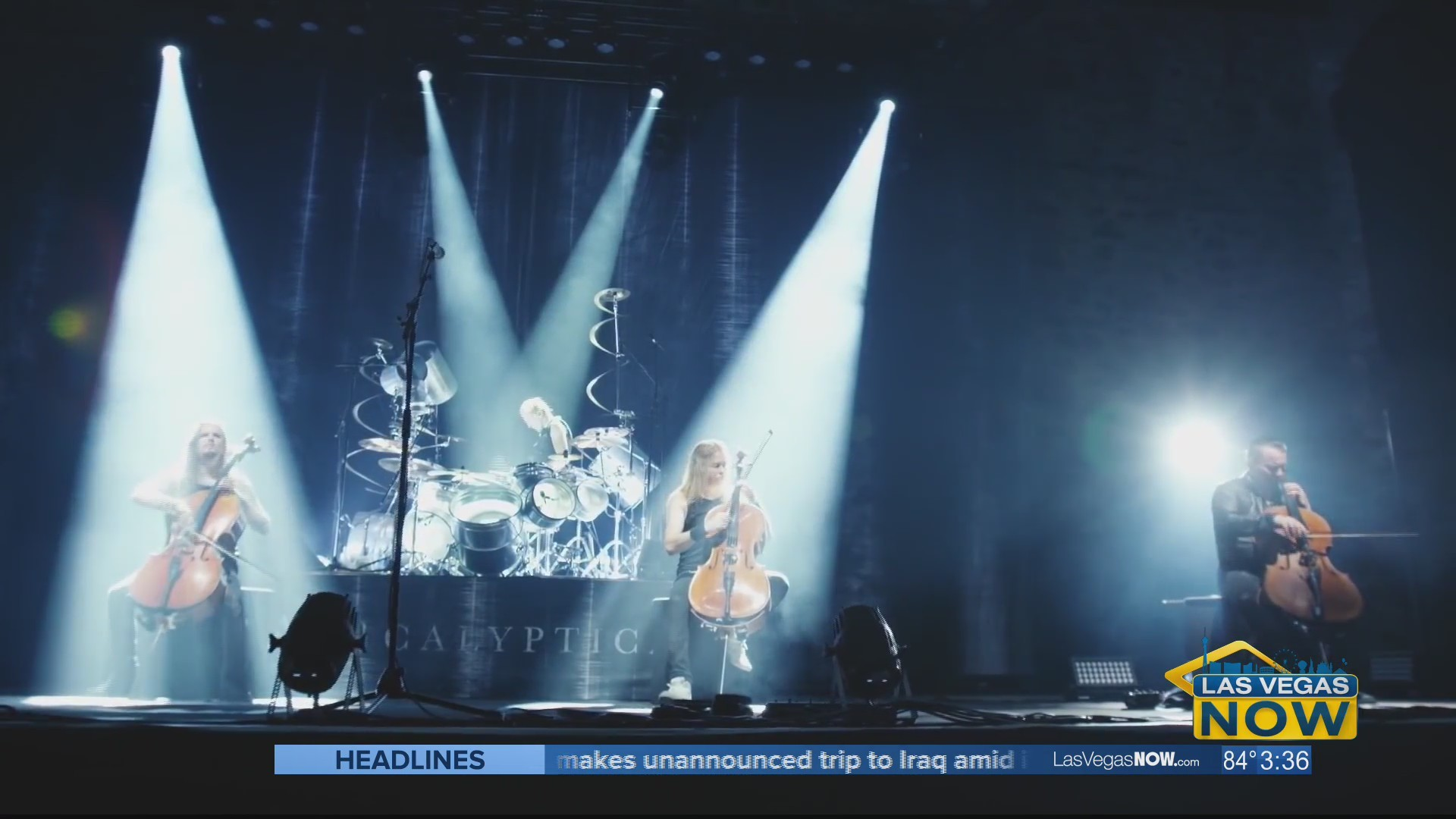 "Apocalyptica is ""Metallica by four cellos"""